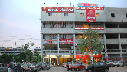 Guest Room-Hotel Antheia, Chandigarh